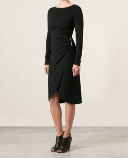 Michael kors jurk zwart wit