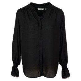 0039 Italy • zwarte blouse met een glittertje