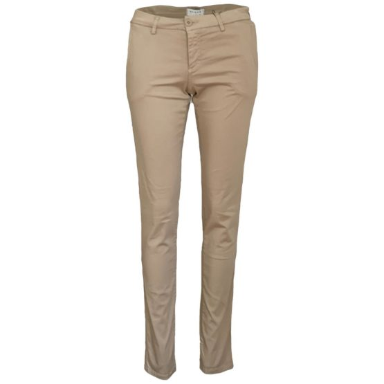 Scapa Flow • beige 7/8 satijn katoenen pantalon