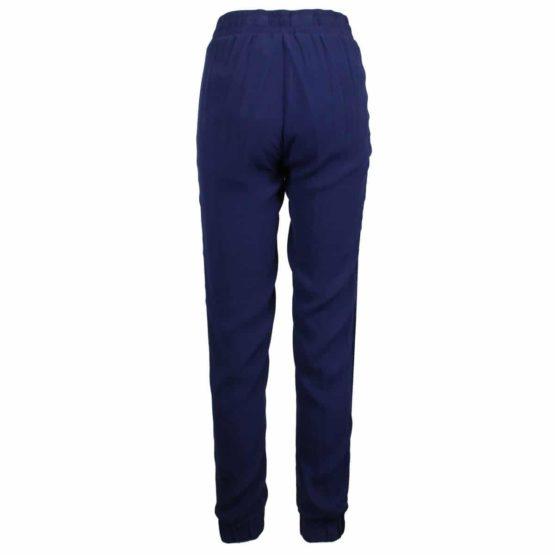 Pinko • donkerblauwe fluwelen pantalon