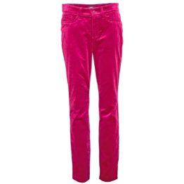 Cambio • roze fluwelen skinny jeans Piper
