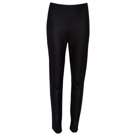 Dame Blanche • zwarte pantalon met slangen motief