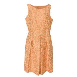 Thelma & Louise • mouwloze jurk in abrikoos