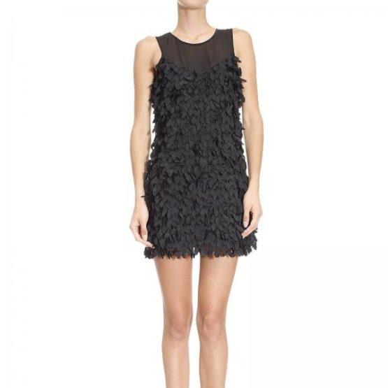 Patrizia Pepe • zwarte jurk met vlinders