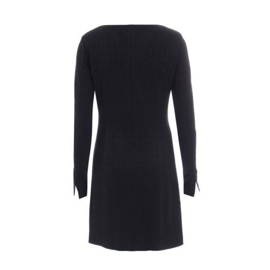 Drykorn • zwarte jurk Tania met een glittertje