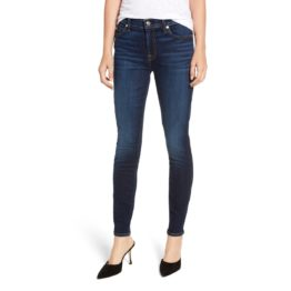 7 for all mankind • blauwe skinny jeans b(air)