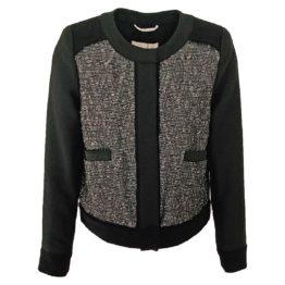 DAY Birger et Mikkelson • kort jasje in zwart zilver