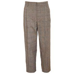 Paul & Joe • geruite pantalon met wijde pijpen