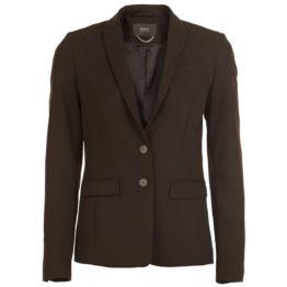 SET • zwarte blazer met twee knopen