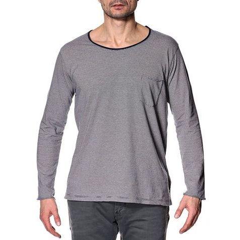 Samsøe Samsøe • blauw wit gestreept shirt