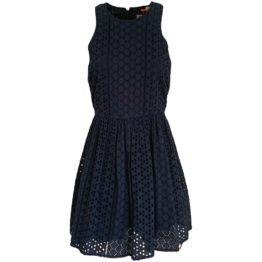 Superdry • donkerblauwe kanten jurk