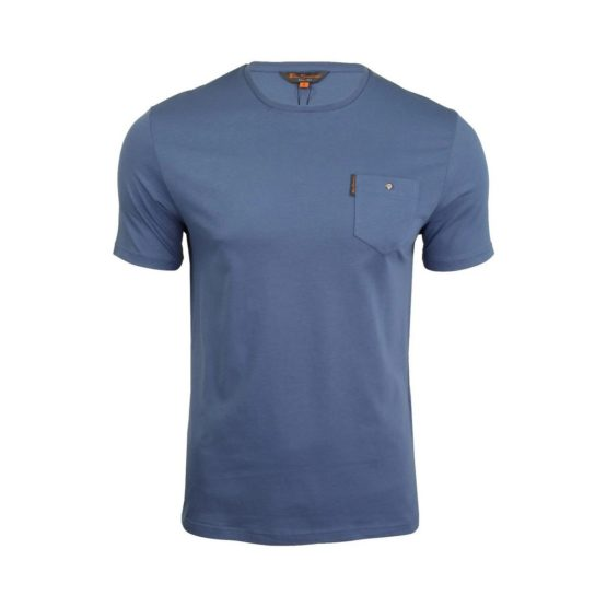 Ben Sherman • blauw shirt met korte mouwen