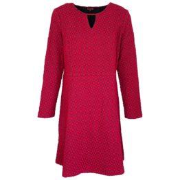 Enolah • rode jurk Desire met ruitmotief