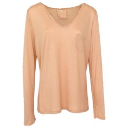 Jeff • licht roze shirt met lange mouwen