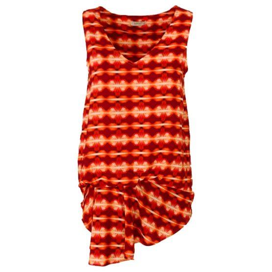 Sarah Lawrence • oranje rode top