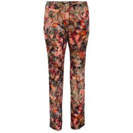 Thelma & Louise • gebloemde fluwelen pantalon