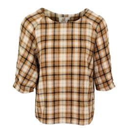 Thelma & Louise • katoenen shirt met ruit
