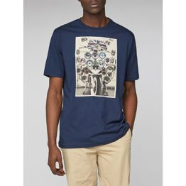 Ben Sherman • donkerblauw t-shirt headlamps
