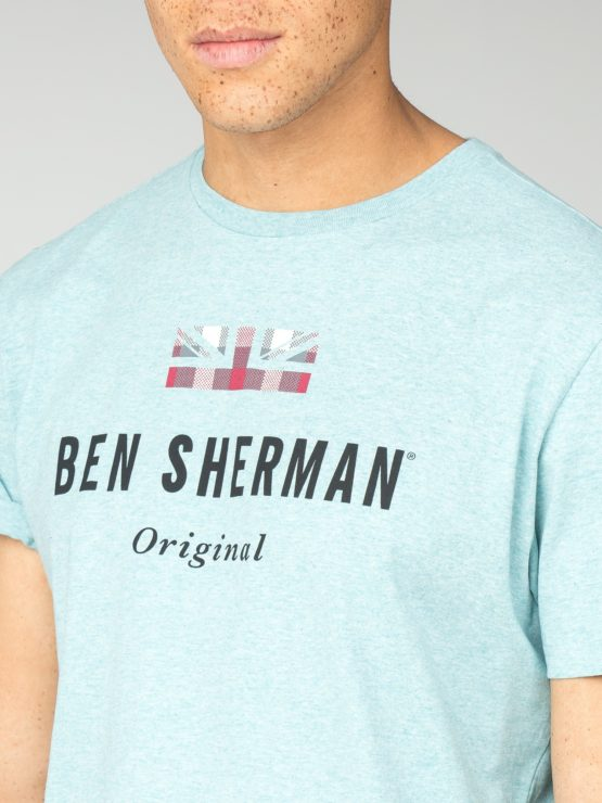 Ben Sherman • turquoise t-shirt The Original