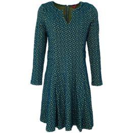 Enolah • rode jurk Daris met ruitmotief