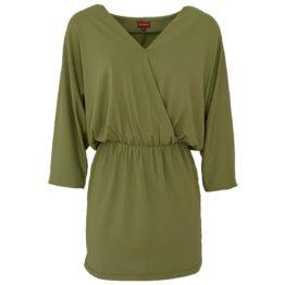 Enolah • olijf groene jurk