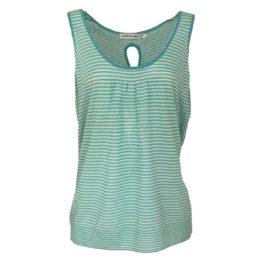 Hampton Bays • turquoise top met witte strepen