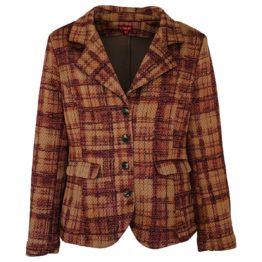 Enolah • bruin geruite blazer