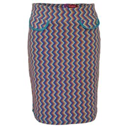 Enolah • zigzag gestreepte rok