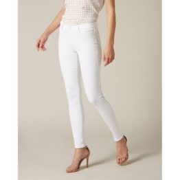 7 for all Mankind • witte The Skinny Super Skinny jeans