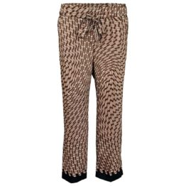 Cambio • wijde pantalon Colette met motief