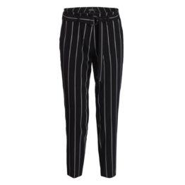 Cambio • zwarte pantalon Kaia met strepen