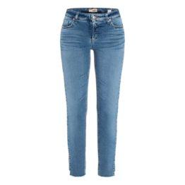 Cambio Jeans • blauwe Liu stepped hem