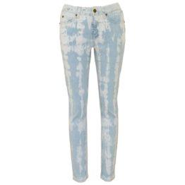 Cambio Jeans • blauw Parla jeans met tie dye motief