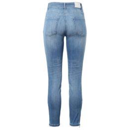 Cambio Jeans • blauwe skinny jeans Parla Zip