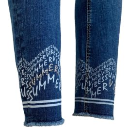 Cambio Jeans • blauwe Pina jeans met summer vibes
