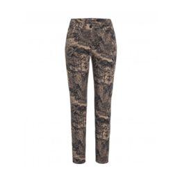 Cambio Jeans • beige Piper jeans met hawai print