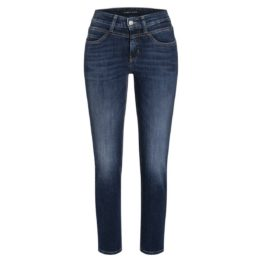Cambio Jeans • donkerblauwe slim fit jeans Posh