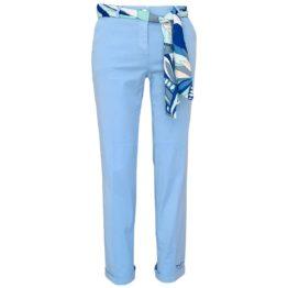 Cambio • pantalon Stella in lichtblauw