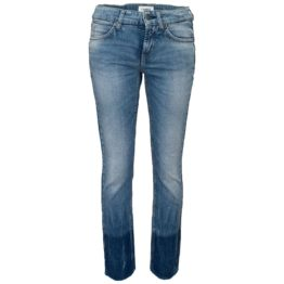 Cambio Jeans • blauwe jeans Tess Straight Short