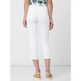 Cambio Jeans • witte capri broek Philia