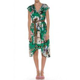 Liu Jo • groene jurk met bloemen
