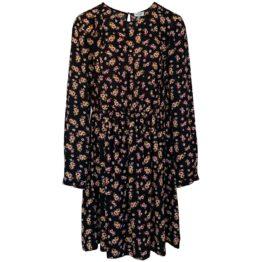 Liu Jo • zwarte jurk met bloemenprint