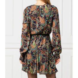 Liu Jo • korte groene jurk met knoopjes