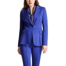 Marc Cain • blauwe getailleerde blazer