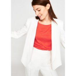 Tara Jarmon • witte korte blazer