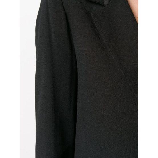 Twinset • zwarte blazer met een knoop