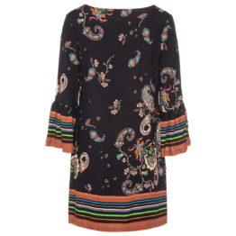 Ana Alcazar • zwarte jurk met bloemenprint