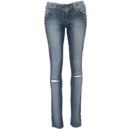 Atos Lombardini • blauwe jeans met beschadigingen