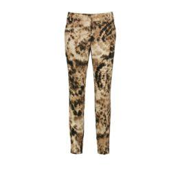 Cambio • bruine pantalon Josephine in tie dye