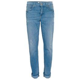 Cambio Jeans • blauwe jeans Kerry met beschadigingen